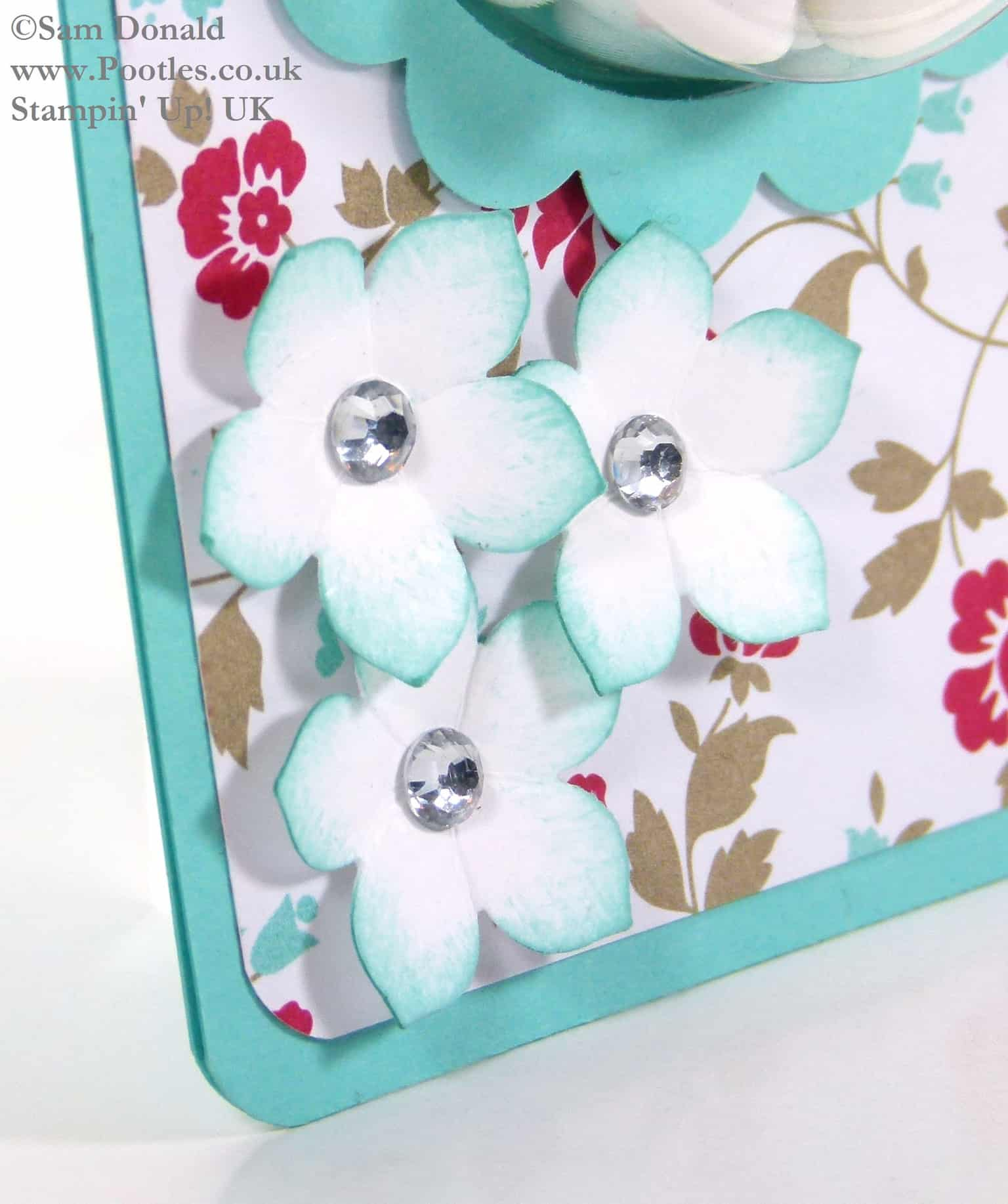 POOTLES Stampin Up UK Tic Tac Sweetie Treat Holder Tutorial