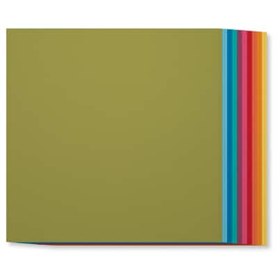 Brights 12x12 collection. 2 each of 10 colours £8.95