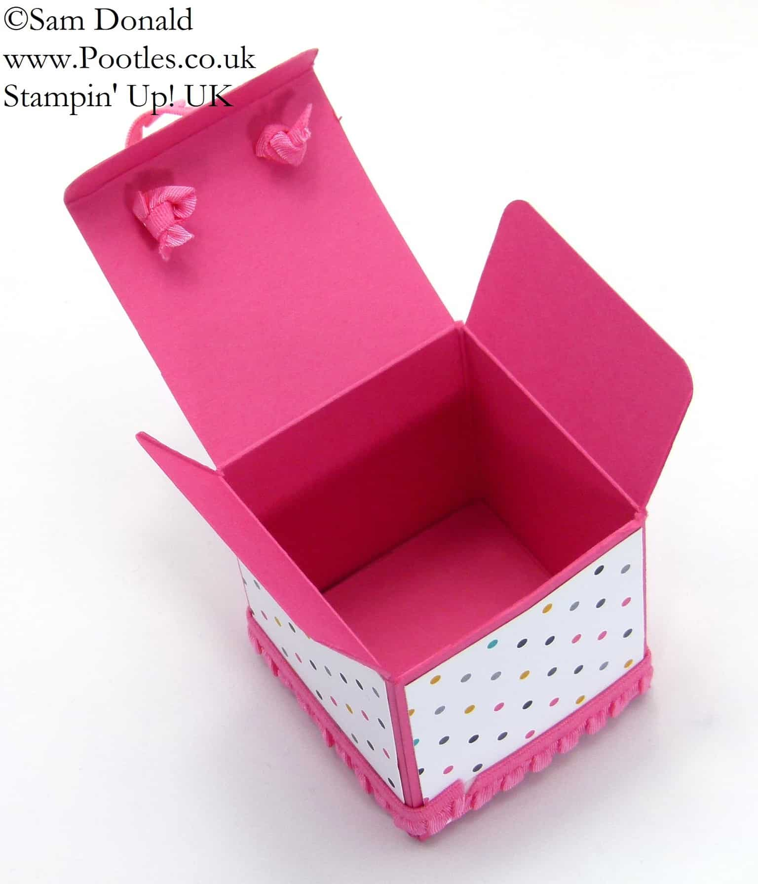 POOTLES Stampin' Up! UK Balm Jar Gift Box Tutorial 2 (1)