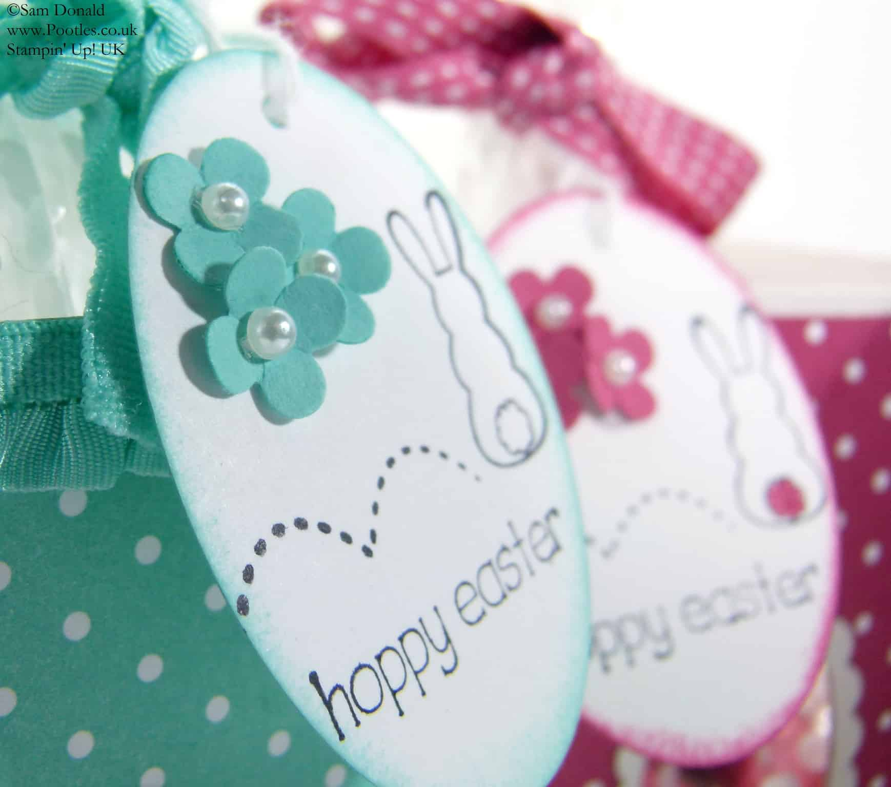 POOTLES Stampin' Up! UK Easter Window Treat Boxes 2
