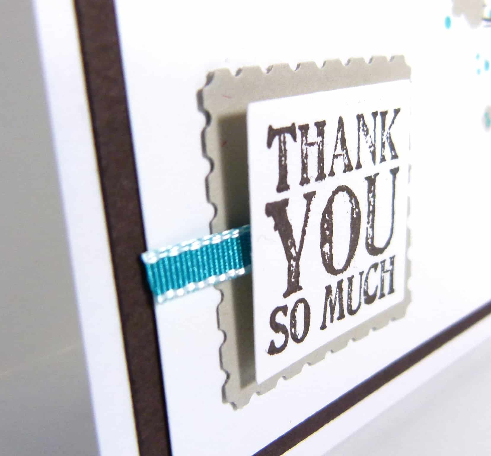 POOTLES Stampin' Up! UK Gorgeous Grunge Thank YOU! 2