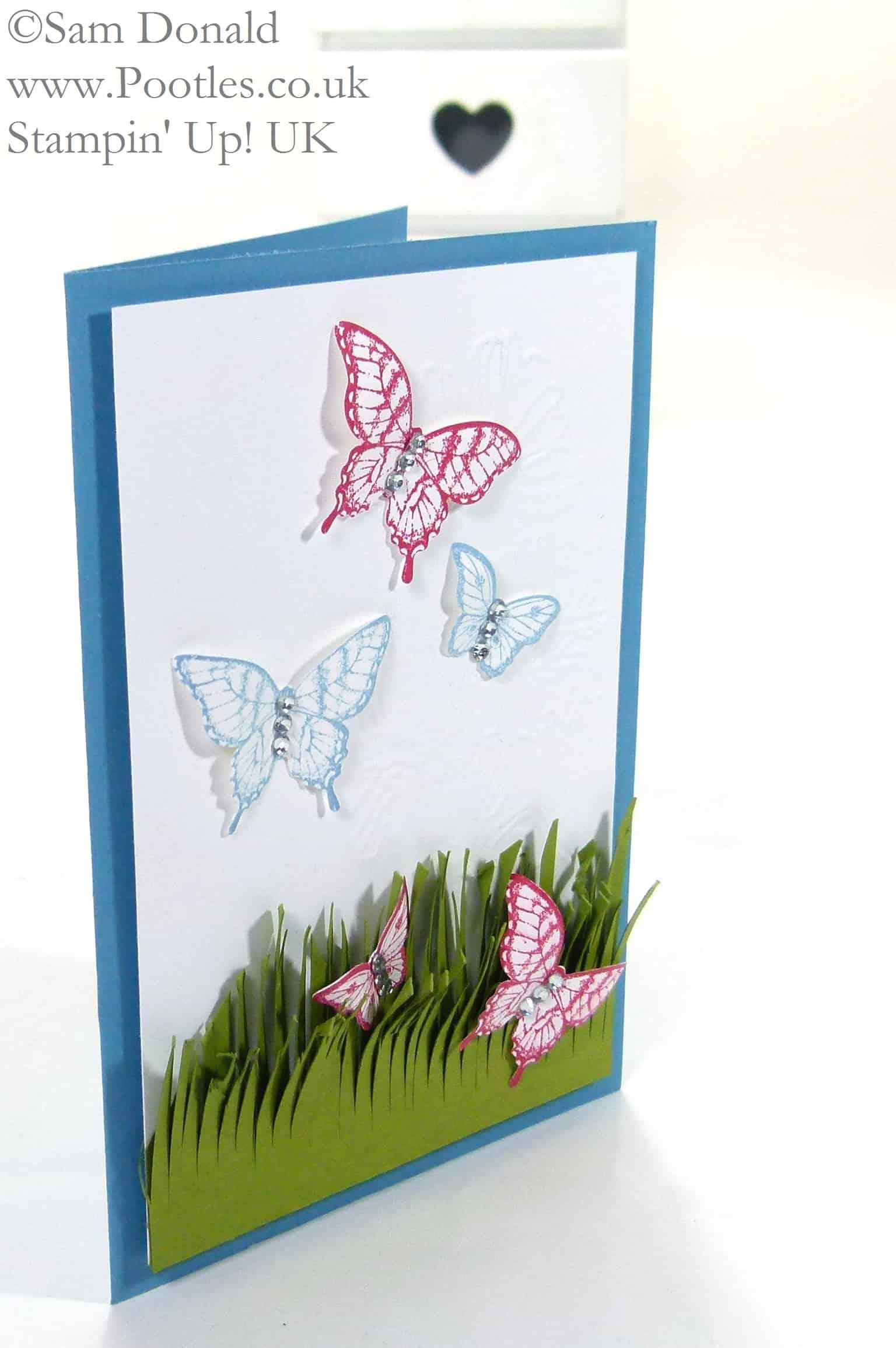 POOTLES Stampin' Up! UK Papillon Pot Pourri meets the Fringe Scissors 2