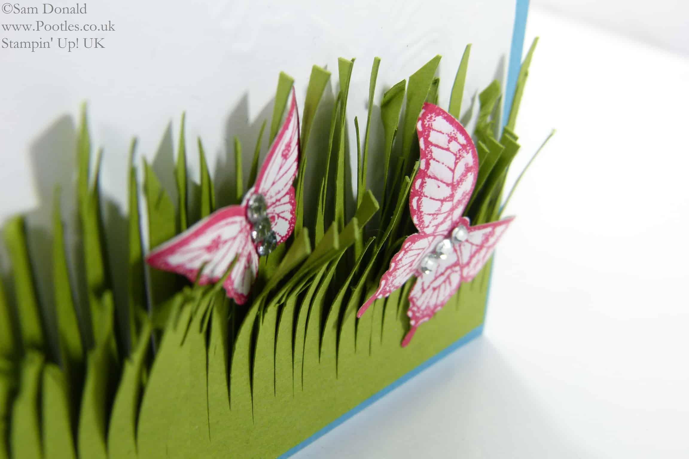 POOTLES Stampin' Up! UK Papillon Pot Pourri meets the Fringe Scissors