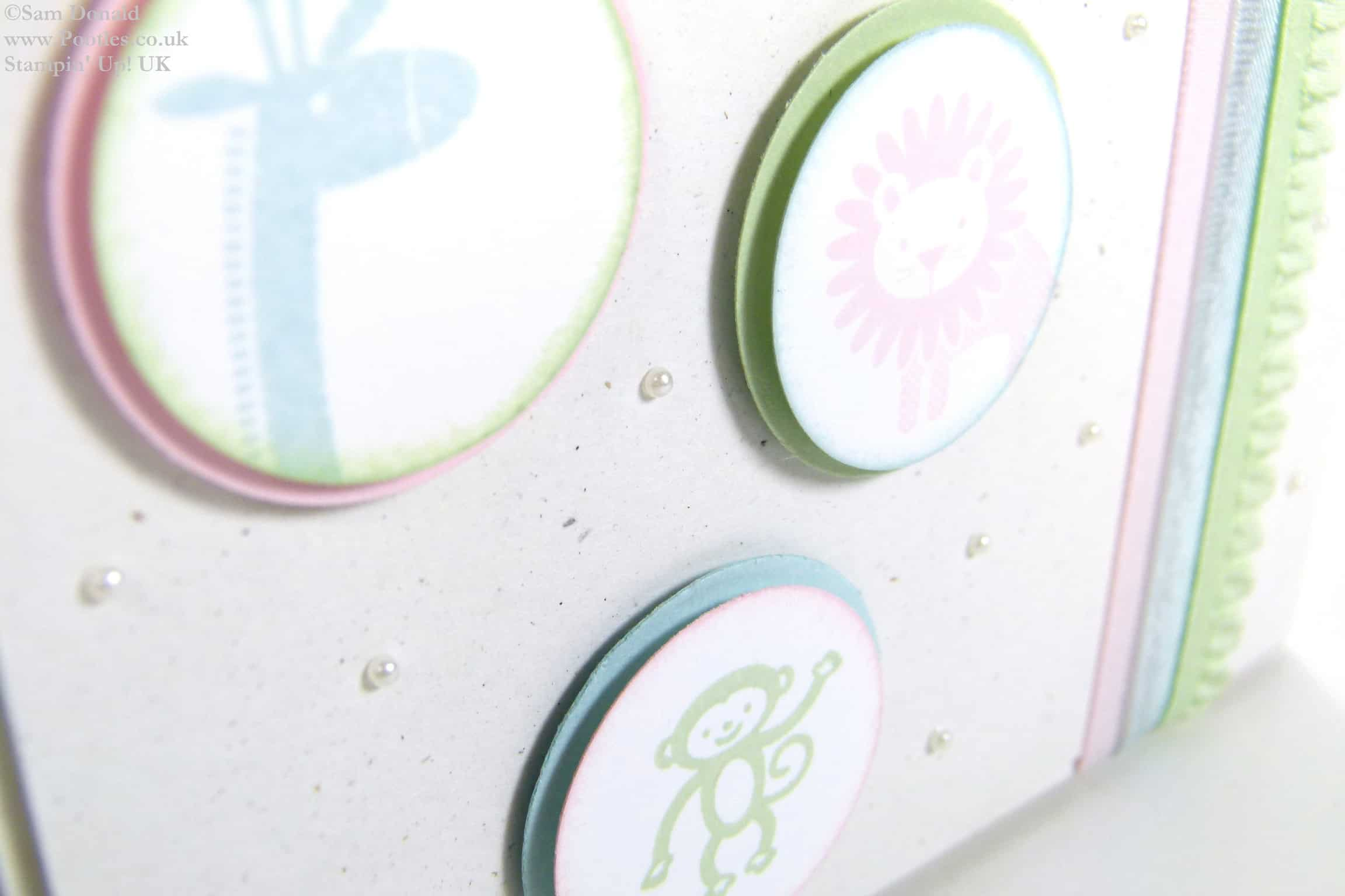 POOTLES Stampin' Up! UK Zoo Babies in Pastels Why not!
