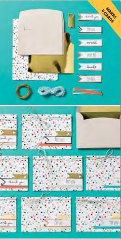 Sale a Bration Good as Gold Card Kit