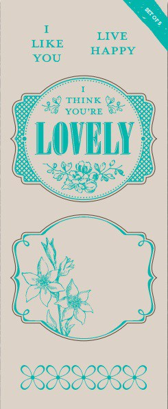 Sale a Bration You're Lovely Stamp Set