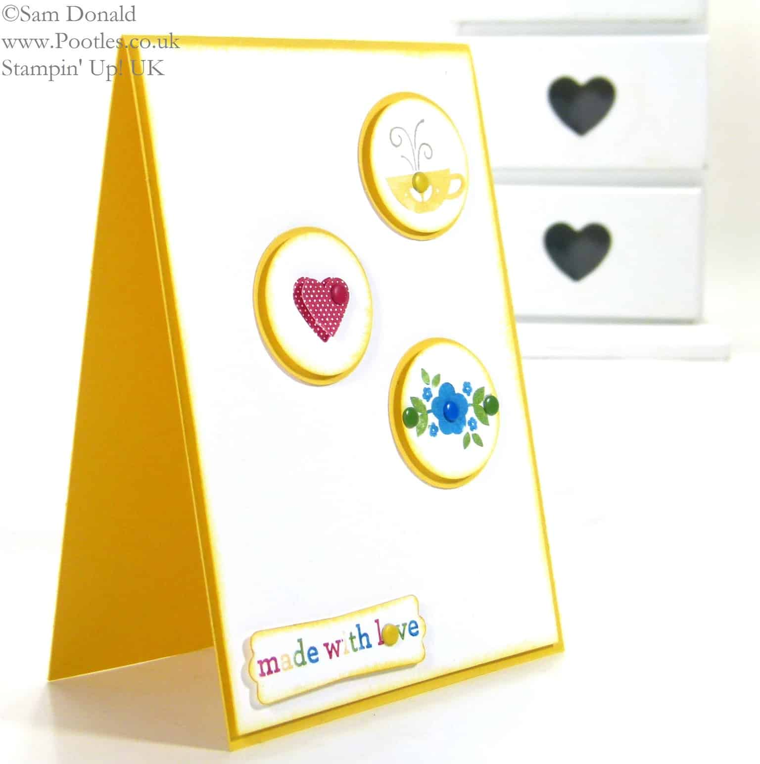 POOTLES Stampin' Up! UK Kind & Cosy is Made with Love
