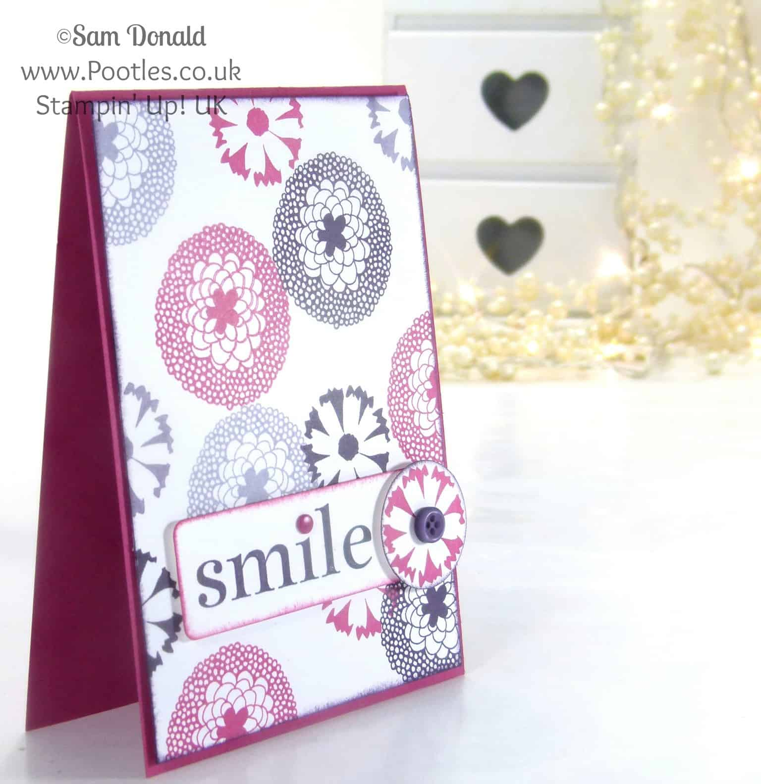 POOTLES Stampin' Up! UK Petal Parade Happy Mother's Day Me!