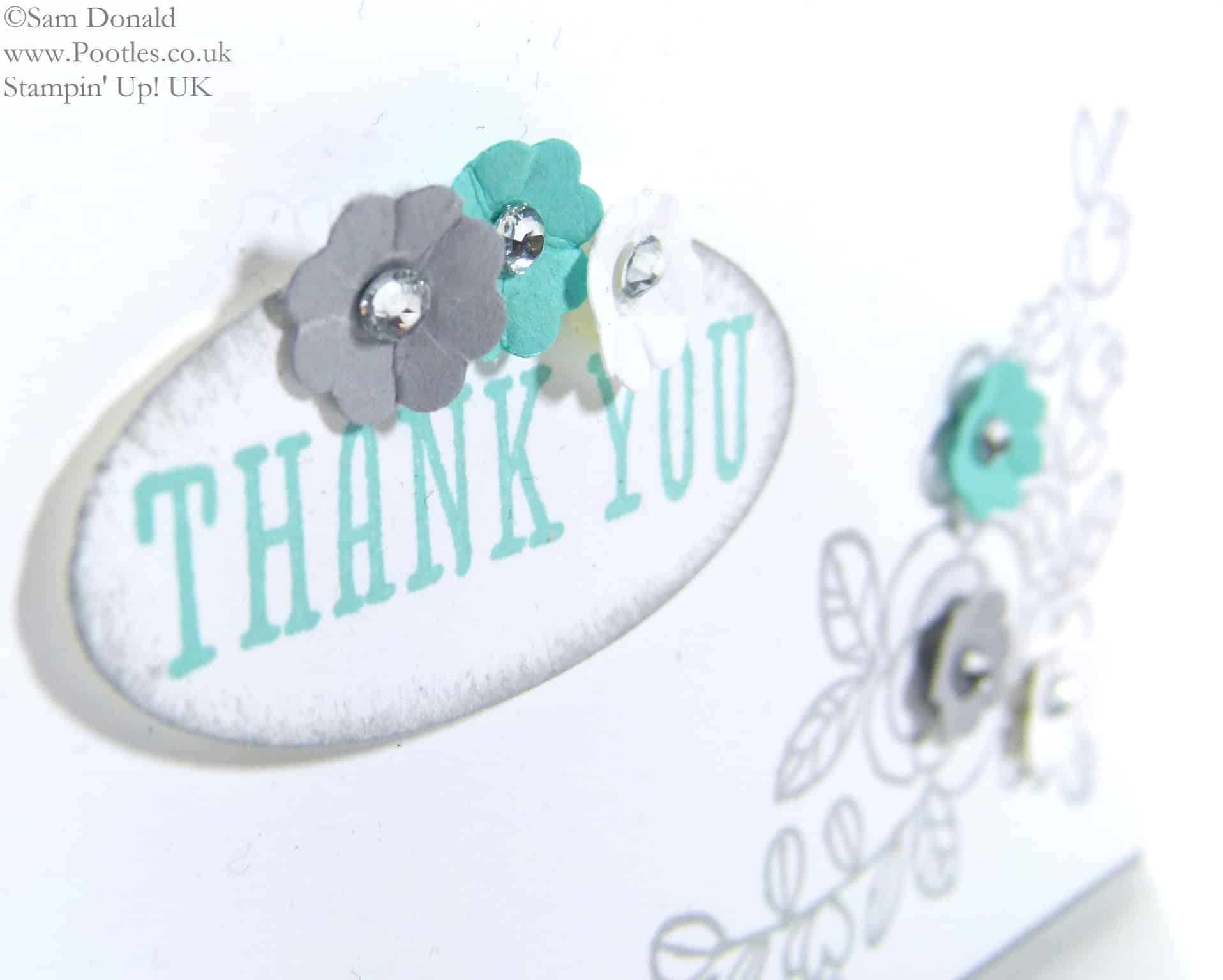 POOTLES Stampin' Up! UK So Grateful to my new team members! close up