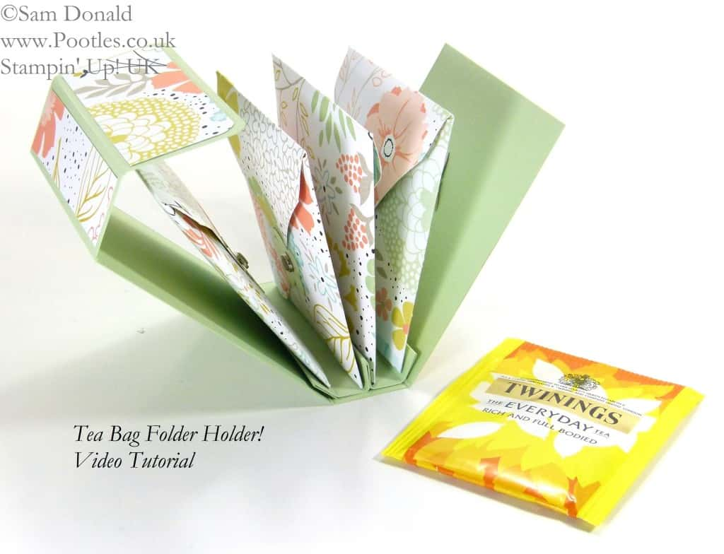 March - Tea Bag Holder