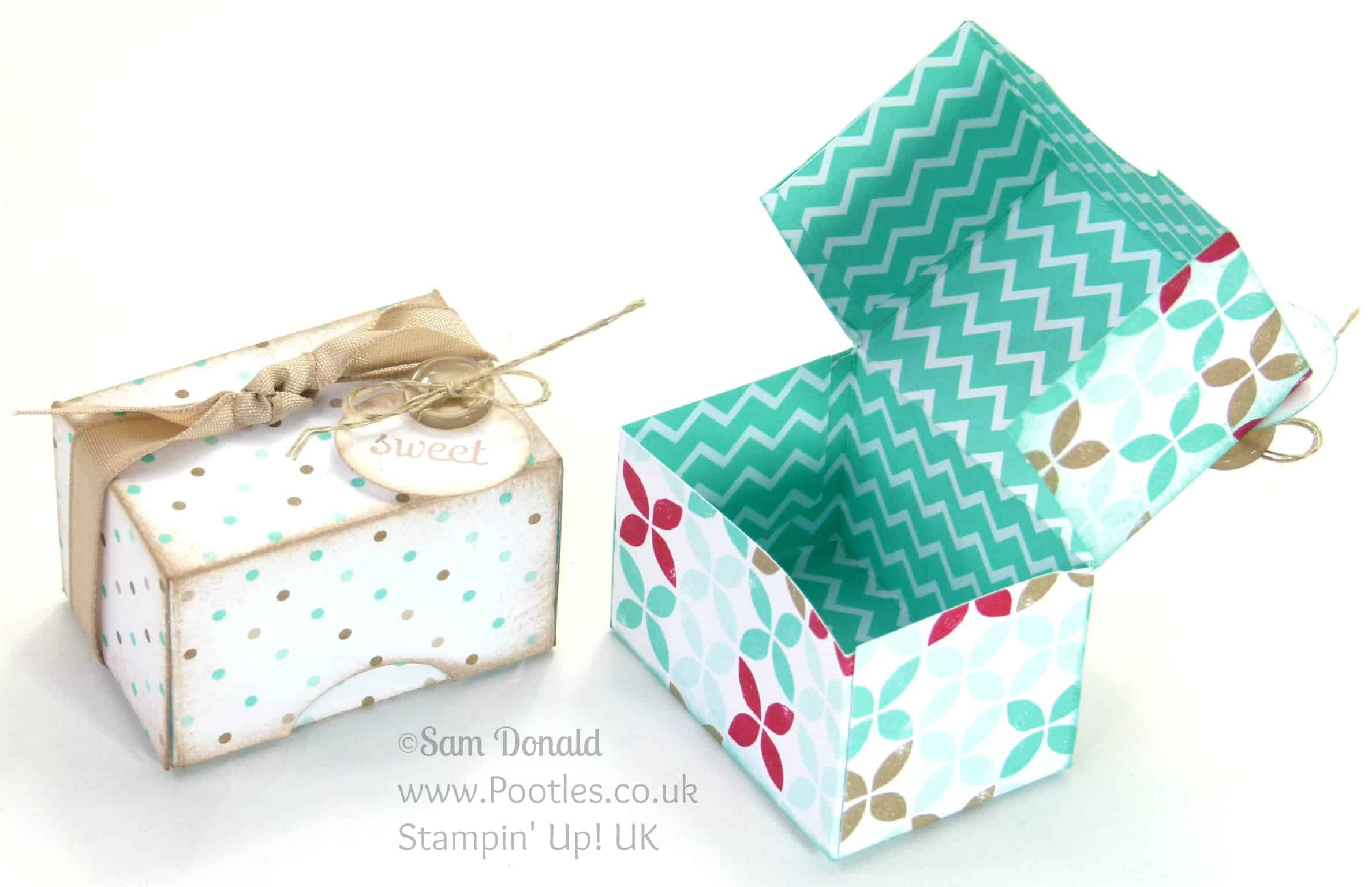 Adorable mini box tutorial pootles stampin up uk adorable mini box tutorial solutioingenieria Gallery