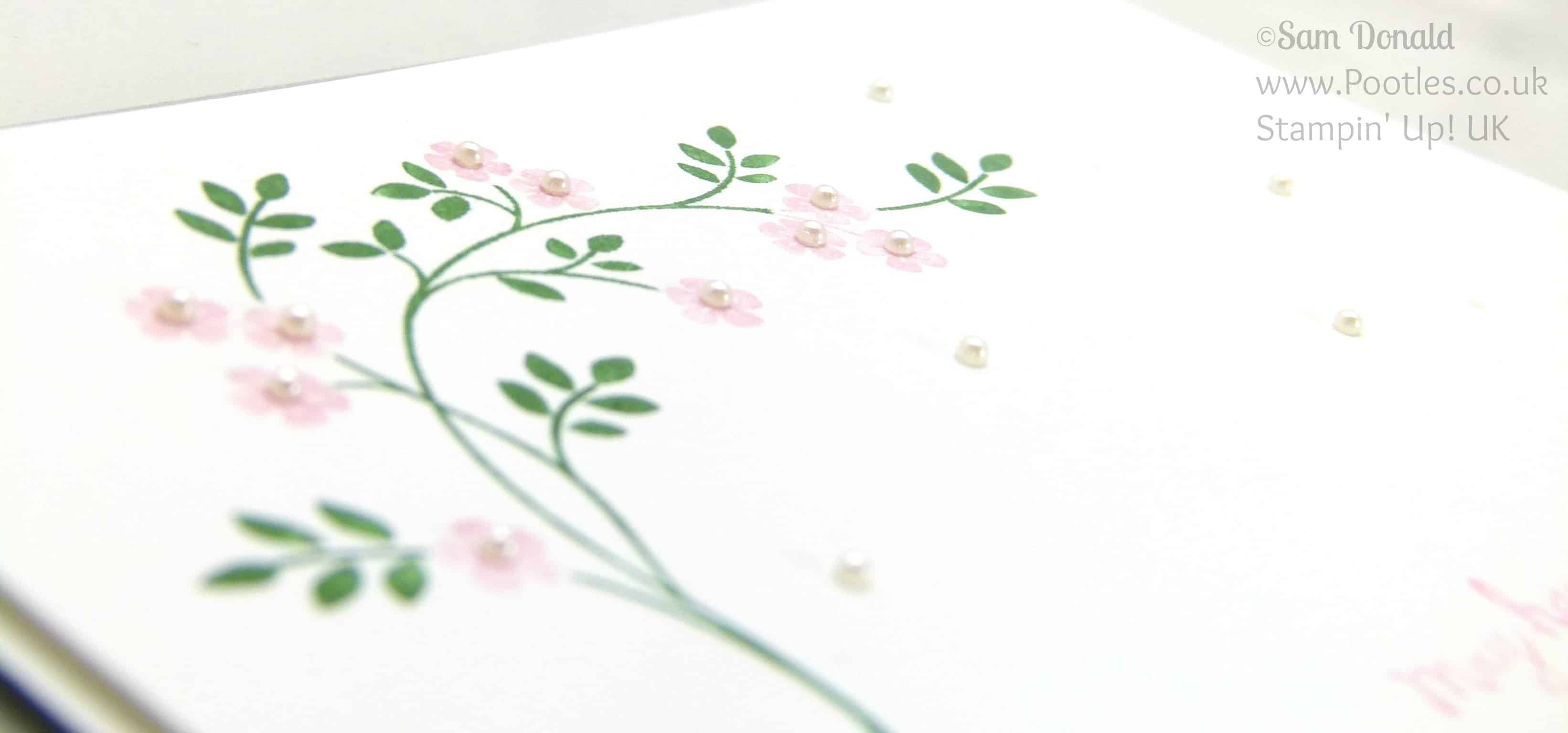 POOTLES Stampin' Up! UK Hopeful Thoughts of Spring in the Air Close Up