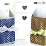 POOTLES Stampin' Up! UK Thin Embossing Folder Holder Tutorial