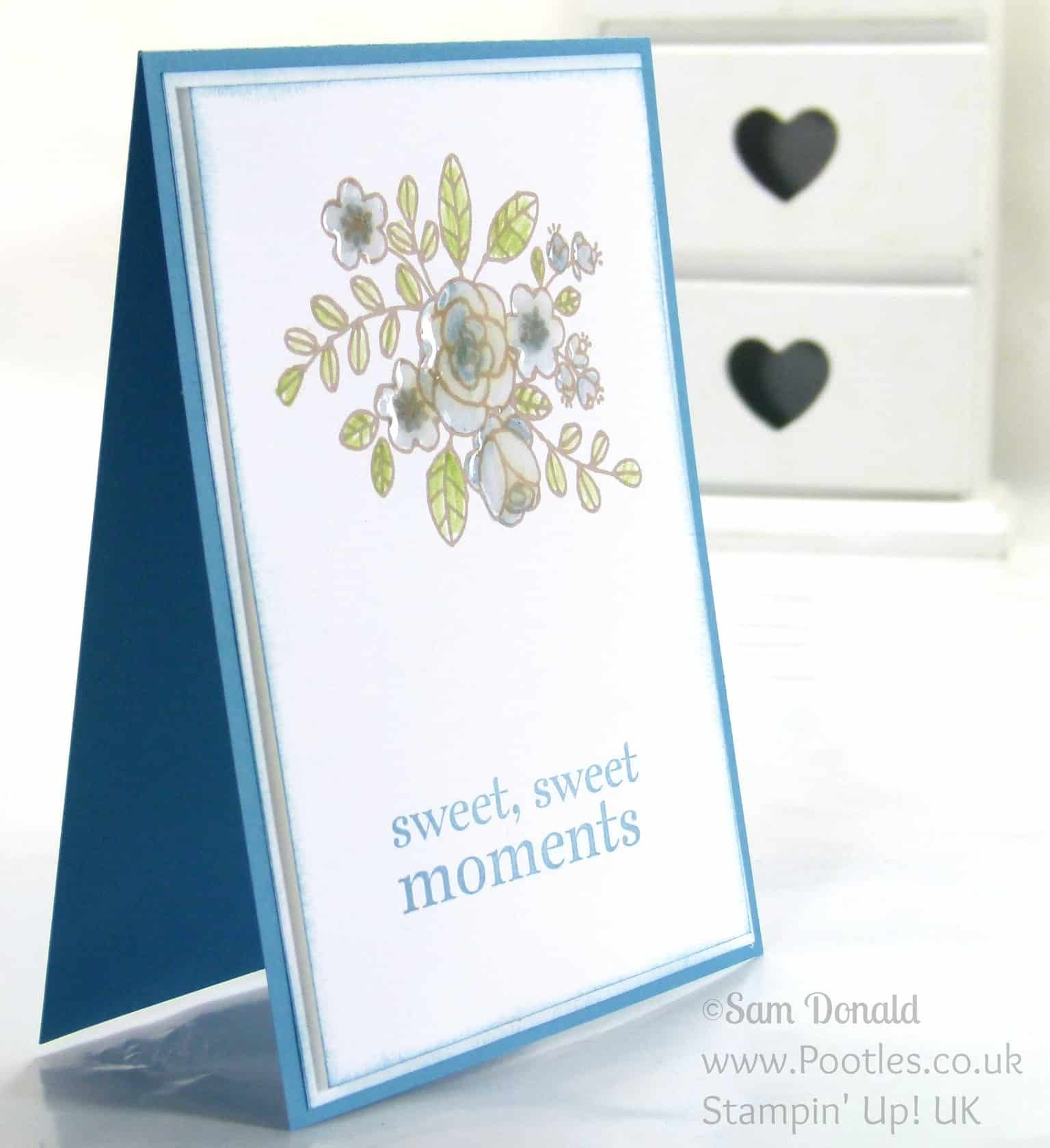 Stampin' Up! UK Independent Demonstrator Pootles. So Very Grateful for a Happy Day
