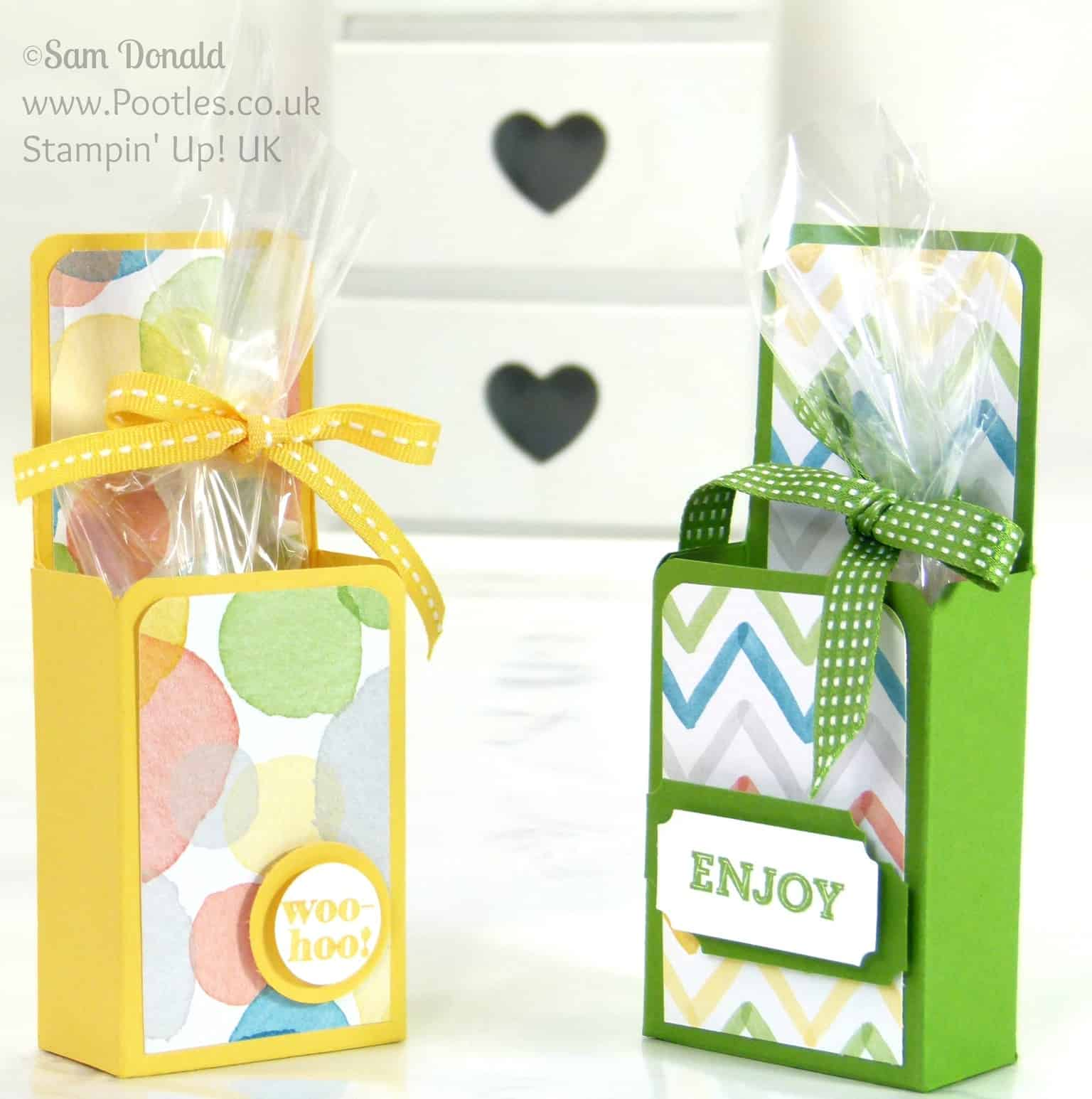 Stampin' Up! UK Upstanding Treat Box