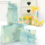 3 Bags from one sheet of Stampin' Up! UK Designer Series Paper (Tutorial!)
