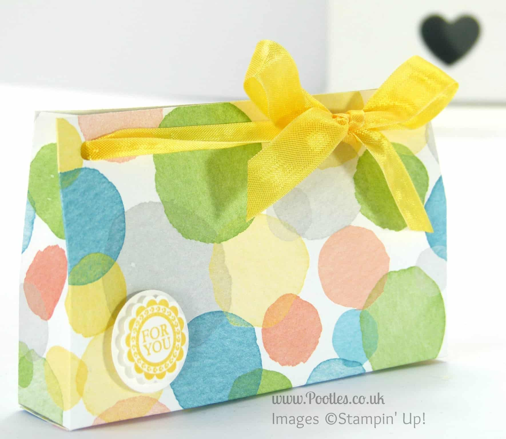 3 Bags from one sheet of Stampin' Up! UK Designer Series Paper (Tutorial!) 4x12 bag