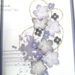 Petite Petals Card with Twisted Linen Thread from Stampin' Up! UK Wisteria Wonder Close Up