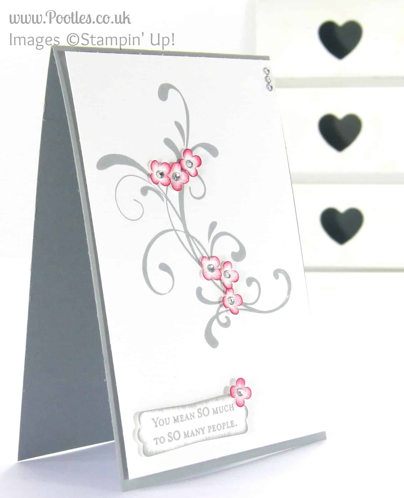 Stampin' Up! UK Demonstrator Pootles - Everything Eleanor is One in a Million