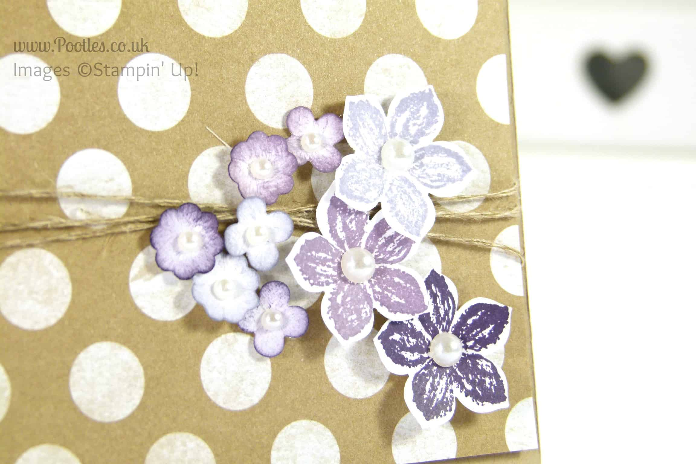 Stampin' Up! UK Demonstrator Pootles - Fresh Prints and Flowers Close Up