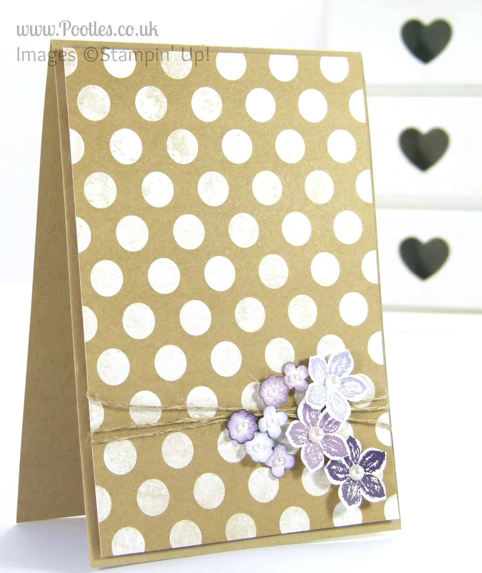 Stampin' Up! UK Demonstrator Pootles - Fresh Prints and Flowers