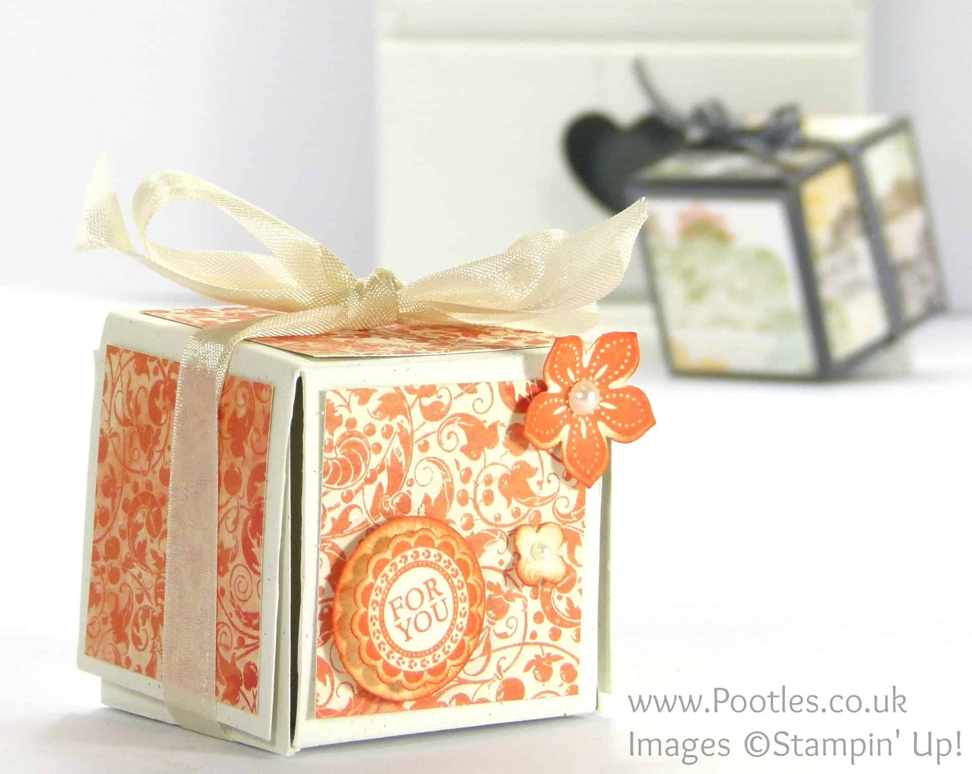 Unusual Fold Out Votive Candle Box Tutorial