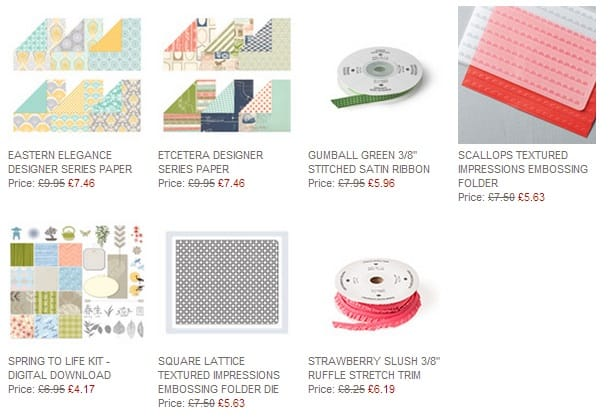 stampin up uk weekly deals may 28