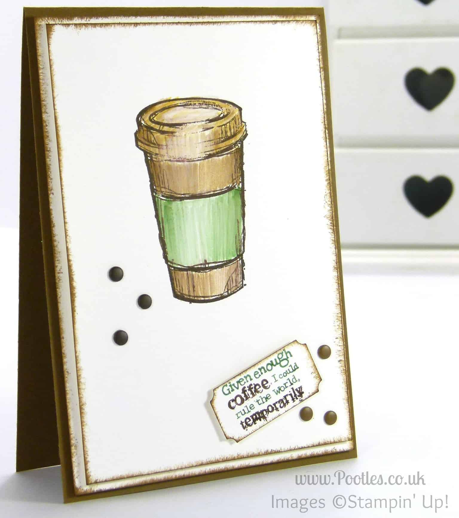South Hill Designs and Stampin' up! on Sunday! Perfect Blend Card Tutorial