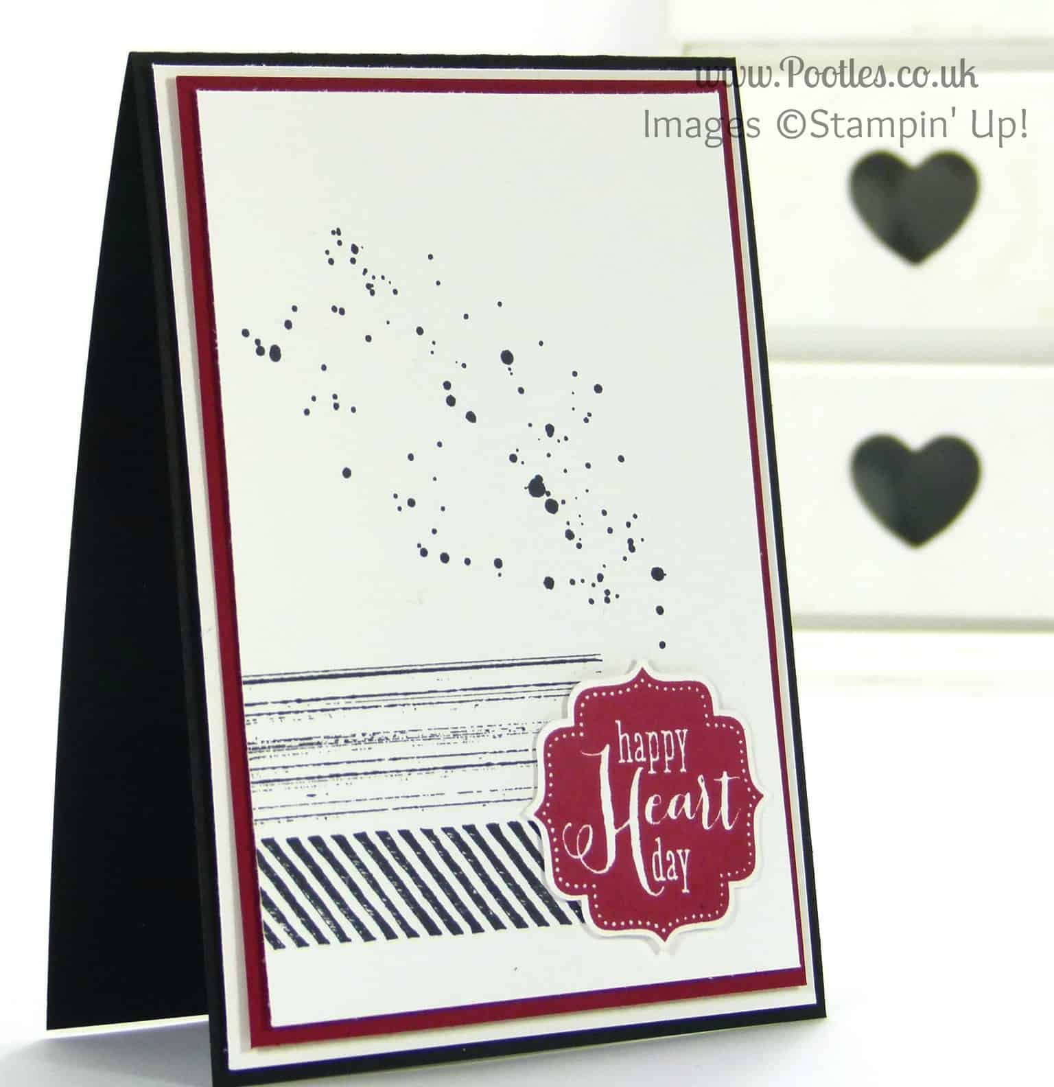 South Hill Designs and Stampin' Up! on Sundays Happy Anniversary Chris... Card