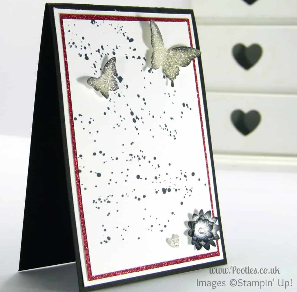 Stampin' Up! and South Hill Designs on Sunday a Diamond Inspired Card
