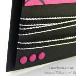 Stampin' Up! UK Demonstrator Pootles - Everything Eleanor. Again Why not! Candy Dot Detail