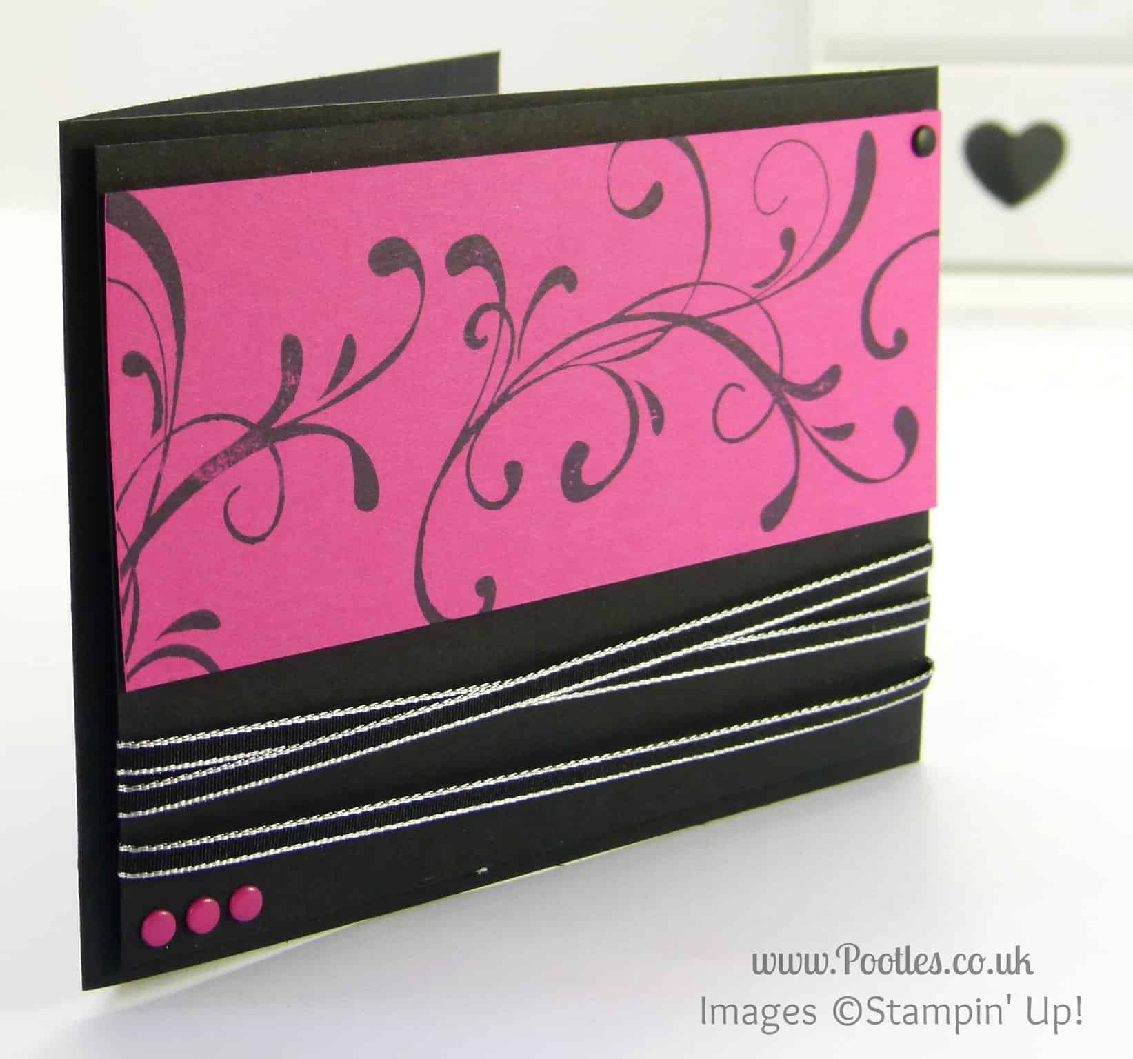 Stampin' Up! UK Demonstrator Pootles - Everything Eleanor. Again Why not!