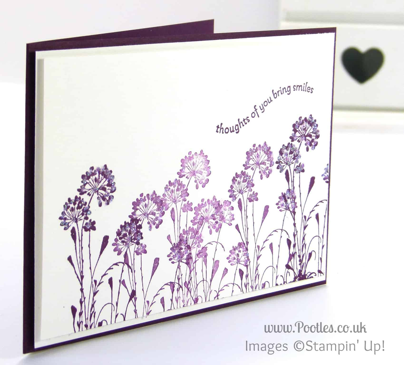 Stampin' Up! UK Demonstrator Pootles - Serene Sillhouettes Inspired Card