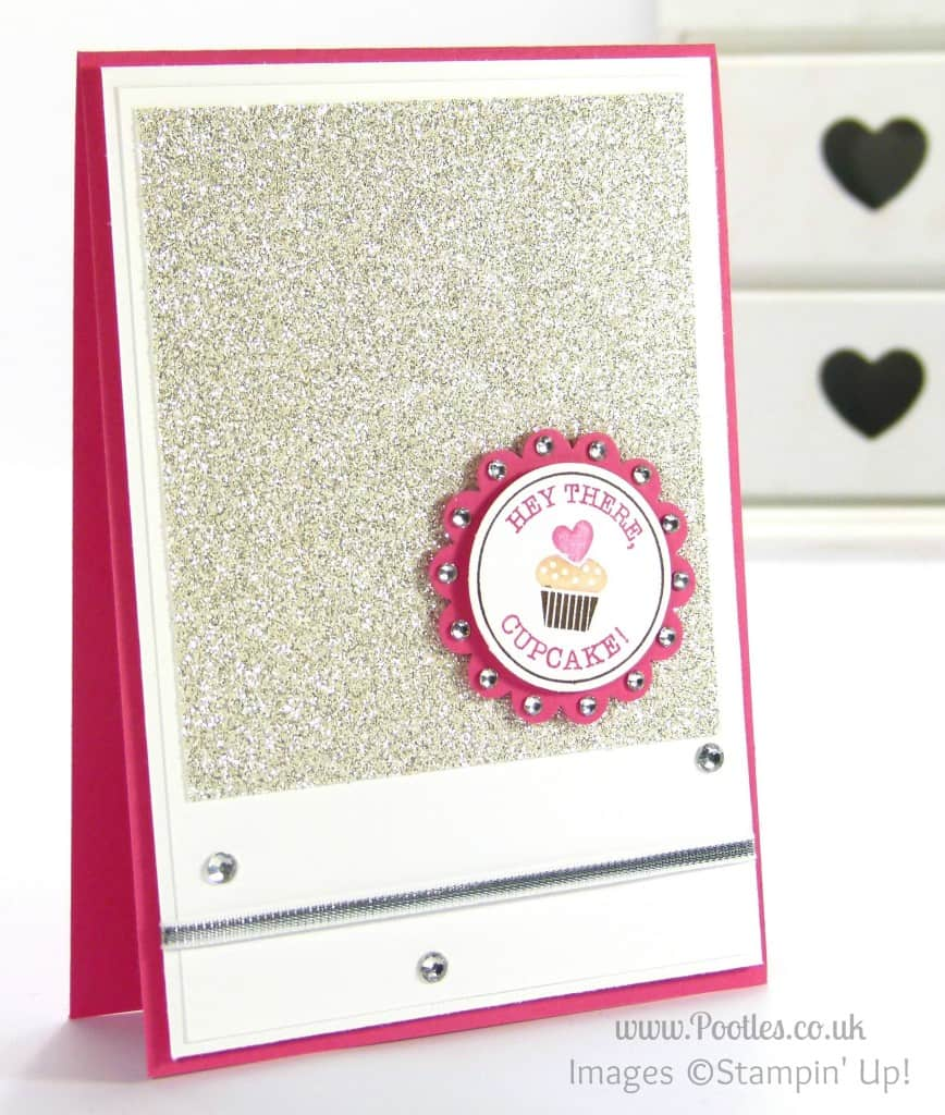 South Hill & Stampin' Up! on Sunday Hey There Cupcake Tutorial