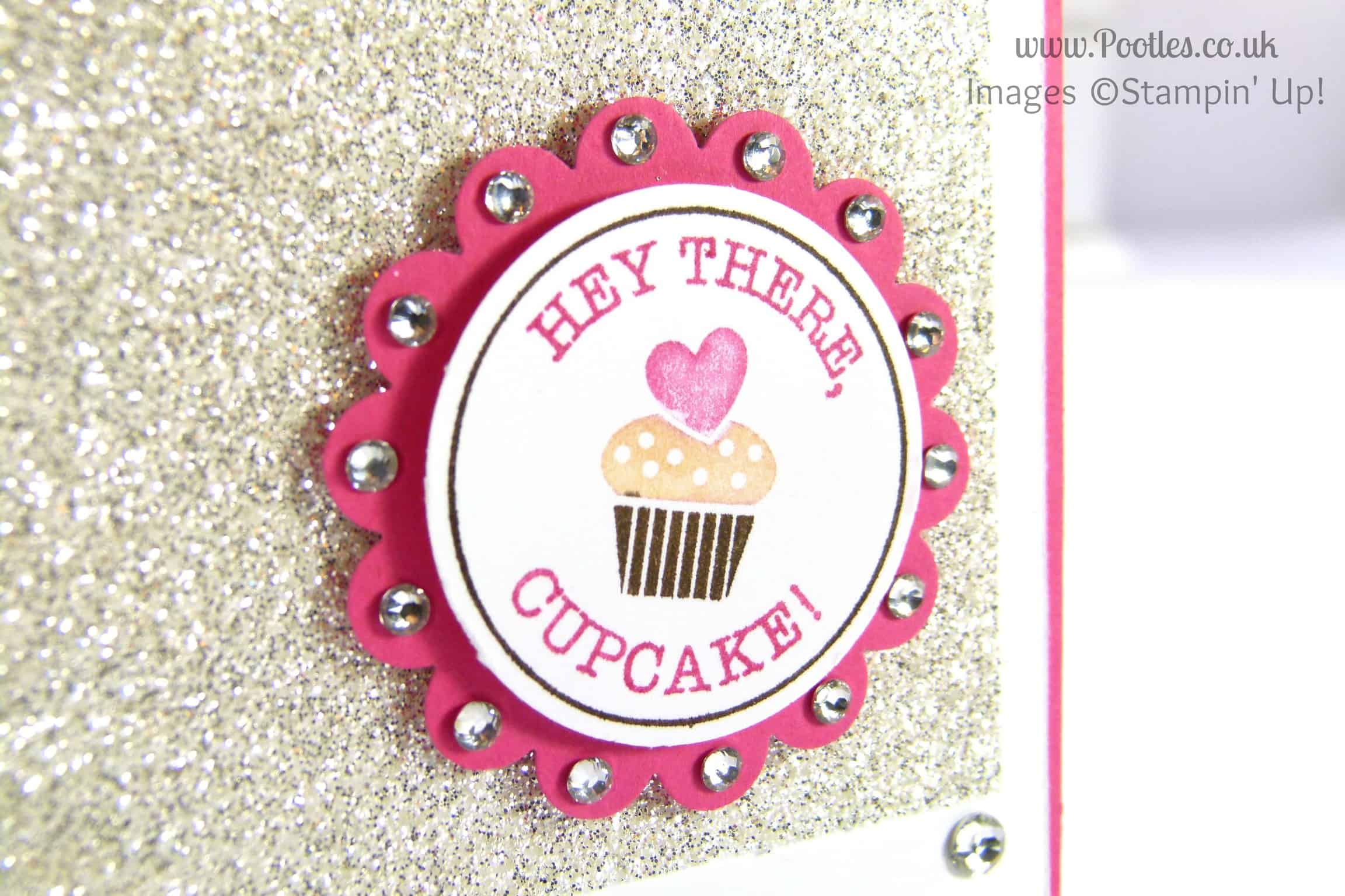 South Hill & Stampin' Up! on Sunday Hey There Cupcake Tutorial Stampin' write marker detail
