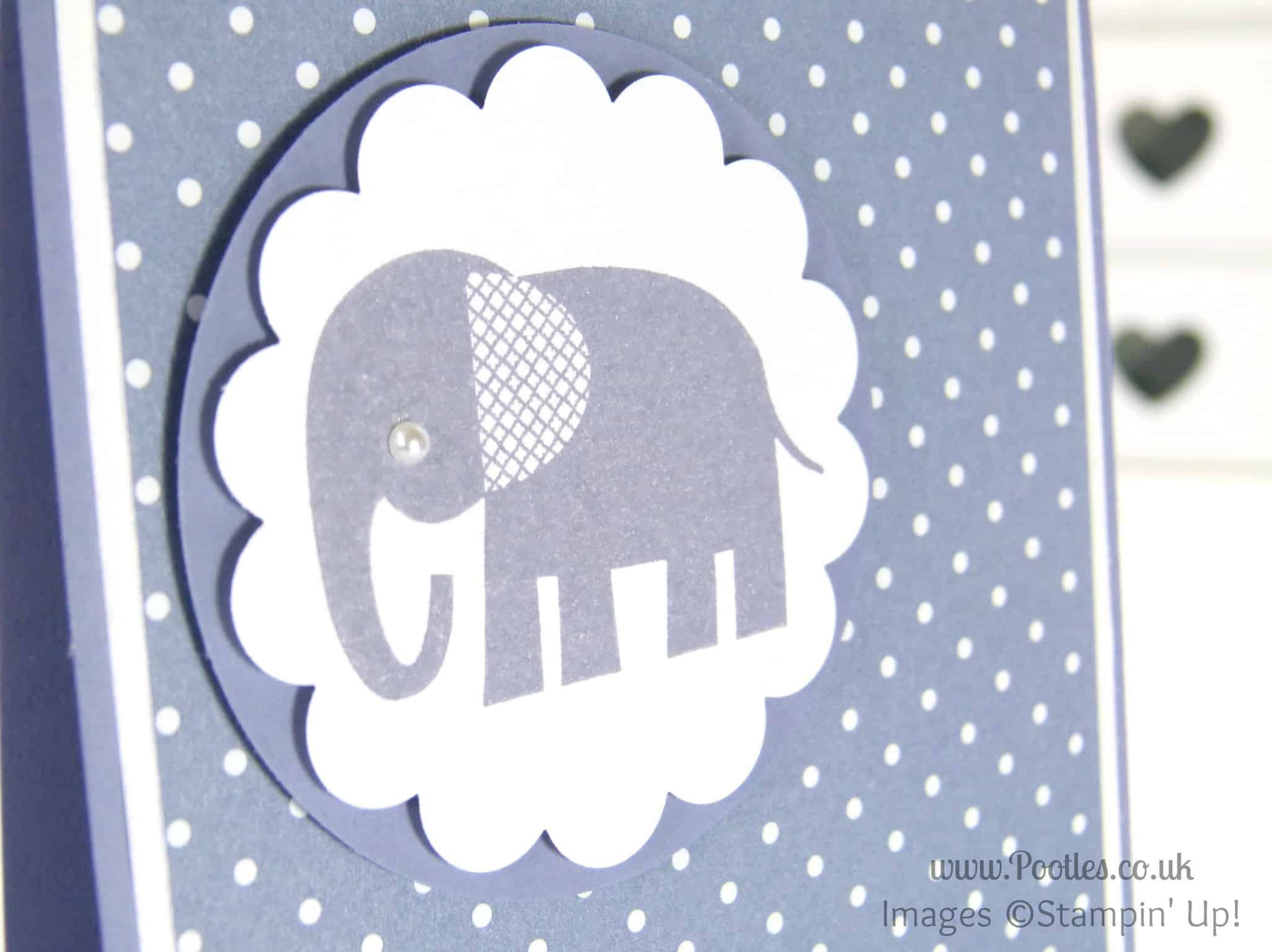 Stampin' up! UK Demonstrator Pootles - Wisteria Wonder Zoo Babies Close Up