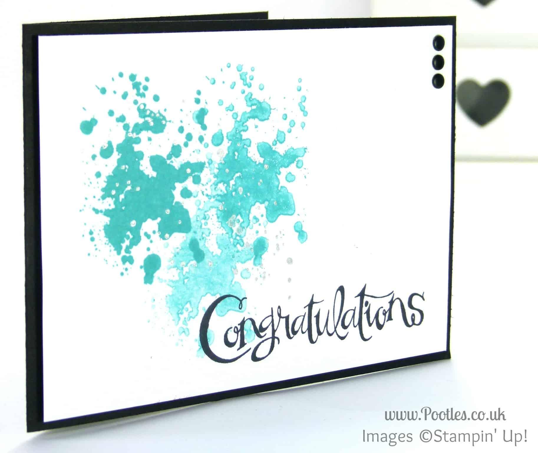 Congratulations those Sassy Salutations!