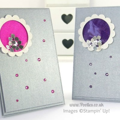South Hill & Stampin Up! Coloured Glimmer Paper Cheat Tutorial
