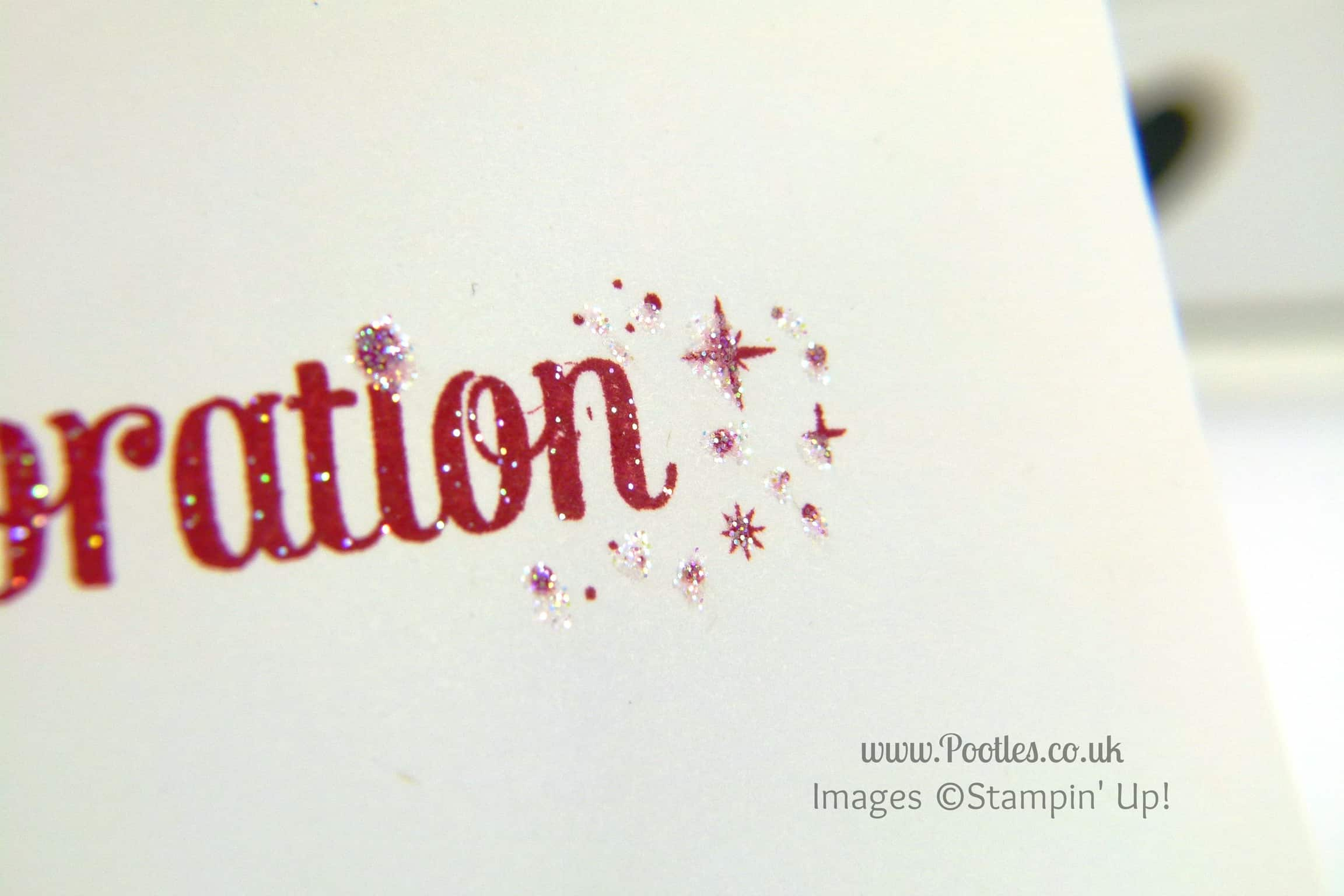 South Hill & Stampin Up on Sunday Congratulations & Hello Mexico, Dominican Republic & Quebec Card Close Up