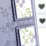 Stampin' up! UK Demonstrator Pootles - An Element of Hopeful Thoughts. Close Up