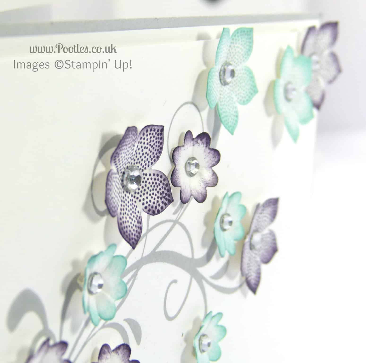 Stampin' Up! UK Demonstrator Pootles - Coastal Cabana Meets Elegant Eggplant close up