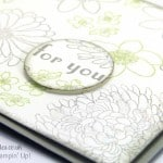 Stampin' Up! UK Demonstrator Pootles - Glitter and Sparkle with Forever Florals Sparkle Close Up
