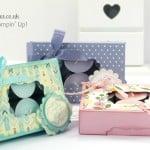 Stampin' Up! UK Demonstrator Pootles - Gorgeous Box for 12 Tea Lights Tutorial