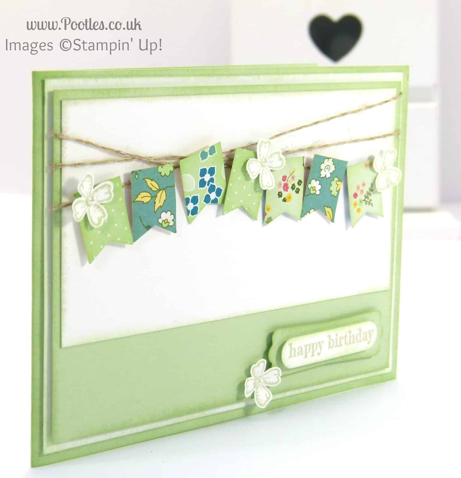 Stampin' Up! UK Demonstrator Pootles - Happy Birthday Mum!