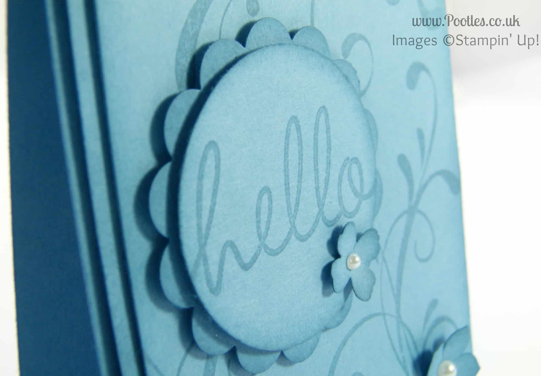 Stampin' Up! UK Demonstrator Pootles - Marina Mist - The Showcase! Close Up
