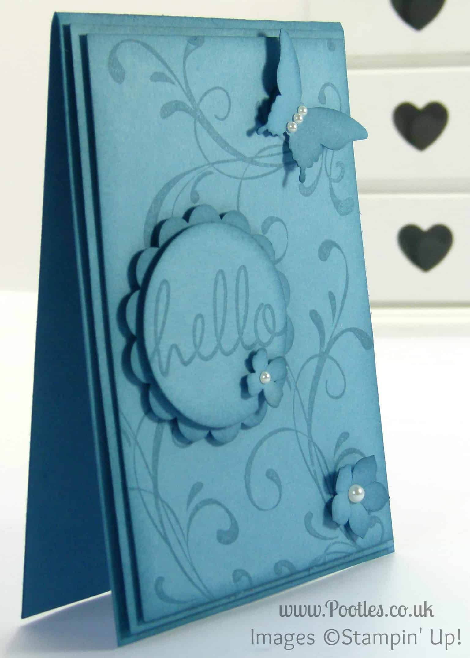 Stampin' Up! UK Demonstrator Pootles - Marina Mist - The Showcase!