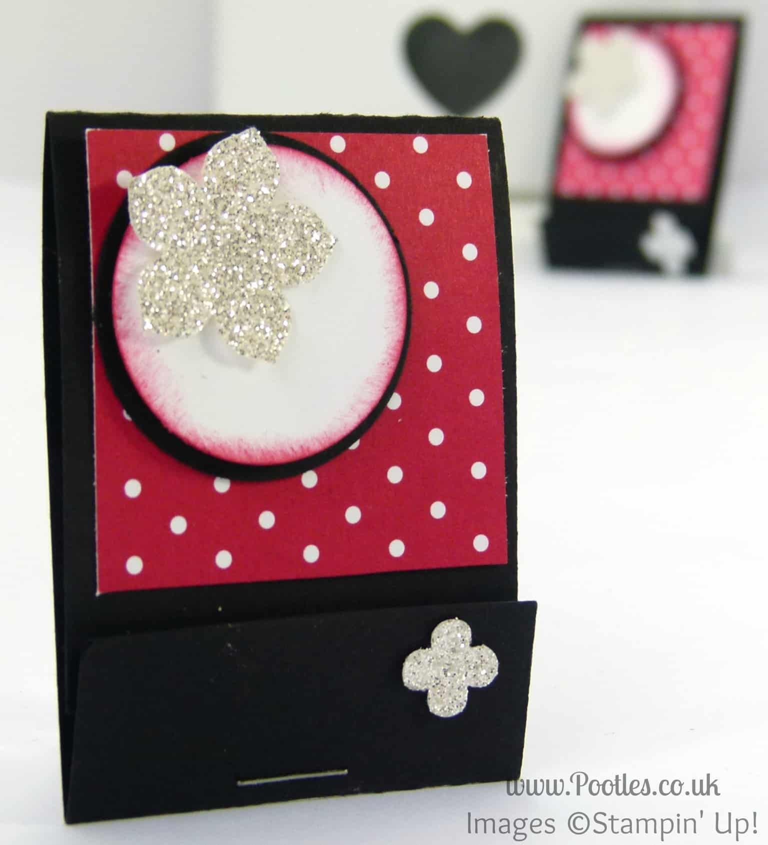 Stampin' Up! UK Scissor Charm Matchbook Tutorial