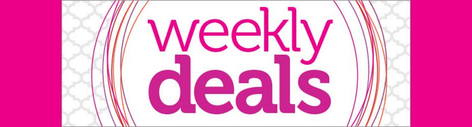 Weekly Deal Update!