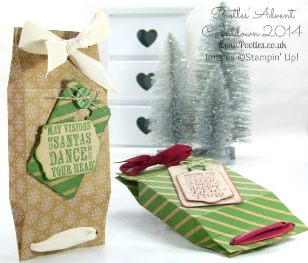 Pootles Advent Coundown #2 Double Pinch Close Box Tutorial