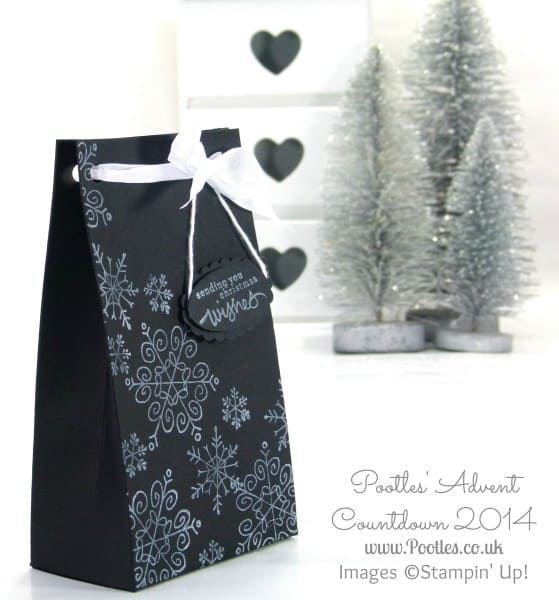 Pootles Advent Countdown #1 Endless Wishes Bag Tutorial